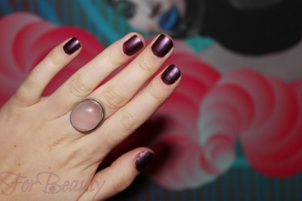 Маникюр бордовый 2018 на коротких ногтях