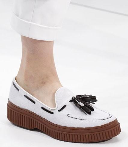 модные туфли 2018-2019 фото женские: без каблуков