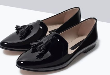 модные туфли 2018 фото женские: без каблуков