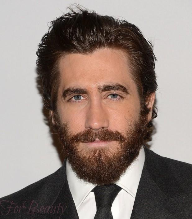 Модная голливудская борода 2018