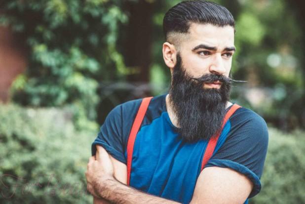 Модная борода 2018