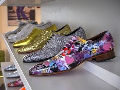 Модные фактуры и цветовая гамма мужской обуви 2018-2019 фото