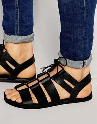 модные мужские сандали
