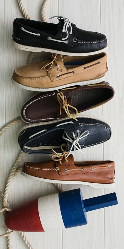 Мужская обувьтопсайдеры