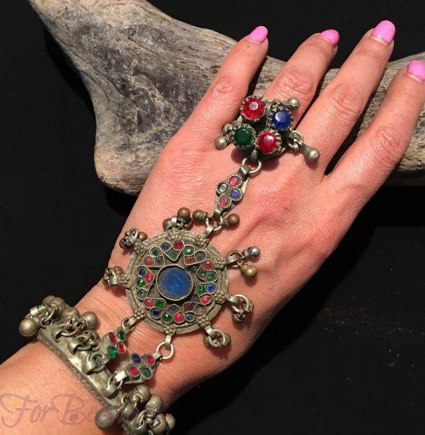 Модные массивные браслеты 2017 фото