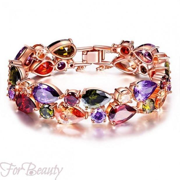 Модные браслеты из натуральных камней фото