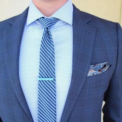как завязать модный галстук