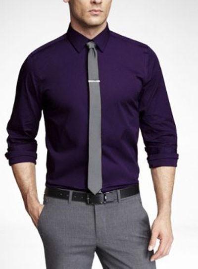 тонкий мужской галстук