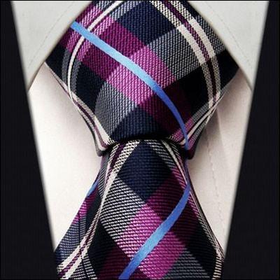 Модные галстуки с геометрическим рисунком 2018-2019 для мужчин