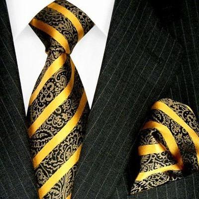 Модные полосатые галстуки 2018-2019 для мужчин фото