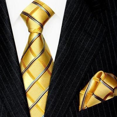 Модные галстуки в клетку 2018-2019 для мужчин фото