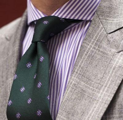 Основные отличия галстуков по форме