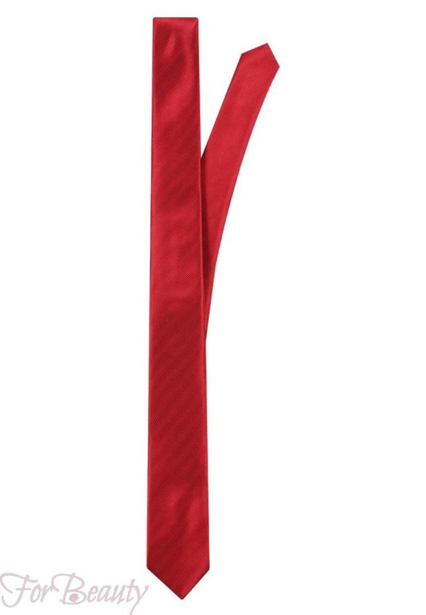 красный галстук 2018 для мужчин