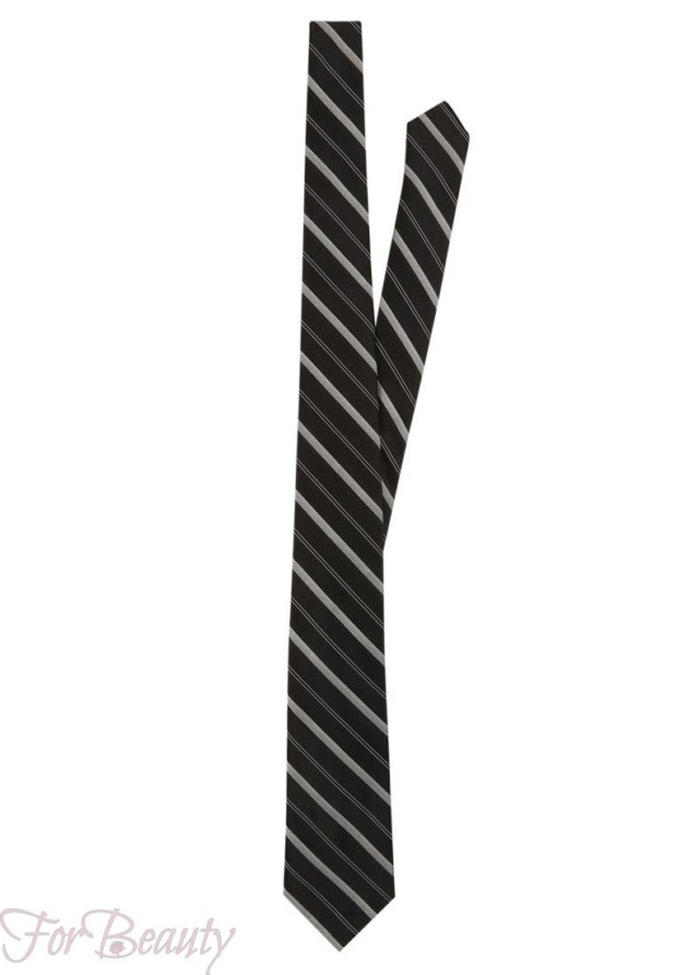 галстук с геометрическим рисунком 2018 для мужчин