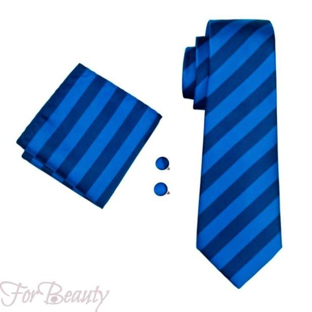 полосатый галстук 2018-2019 для мужчин