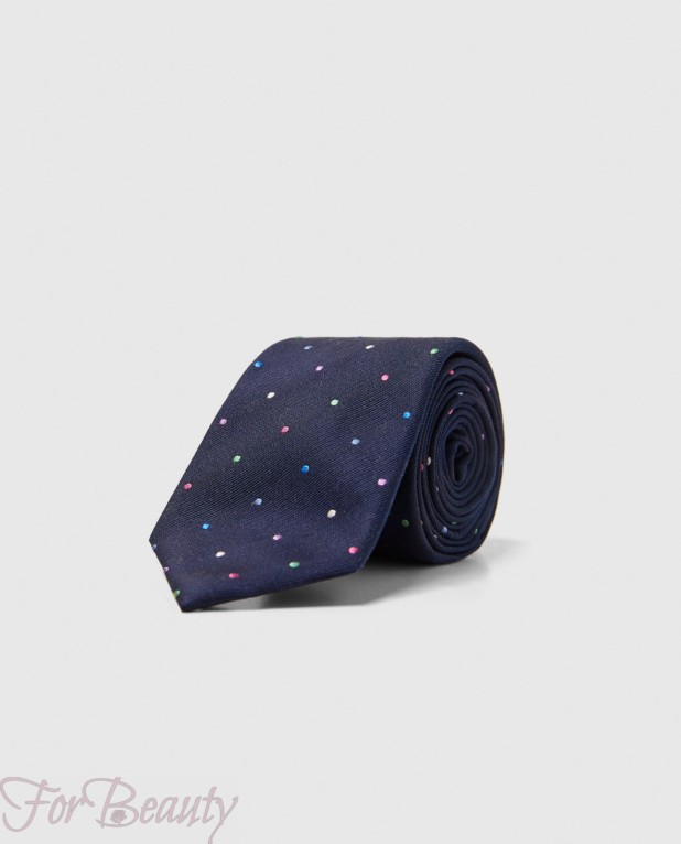 Модный галстук в горох 2018-2019