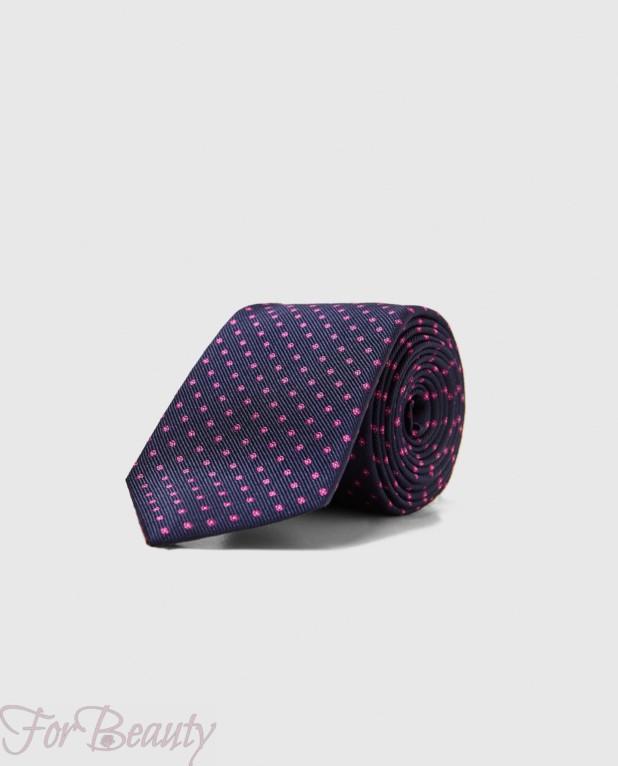 Модный галстук в горох 2018
