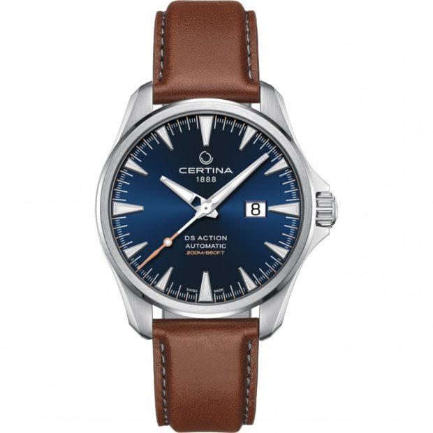 Модные классические часы для мужчин