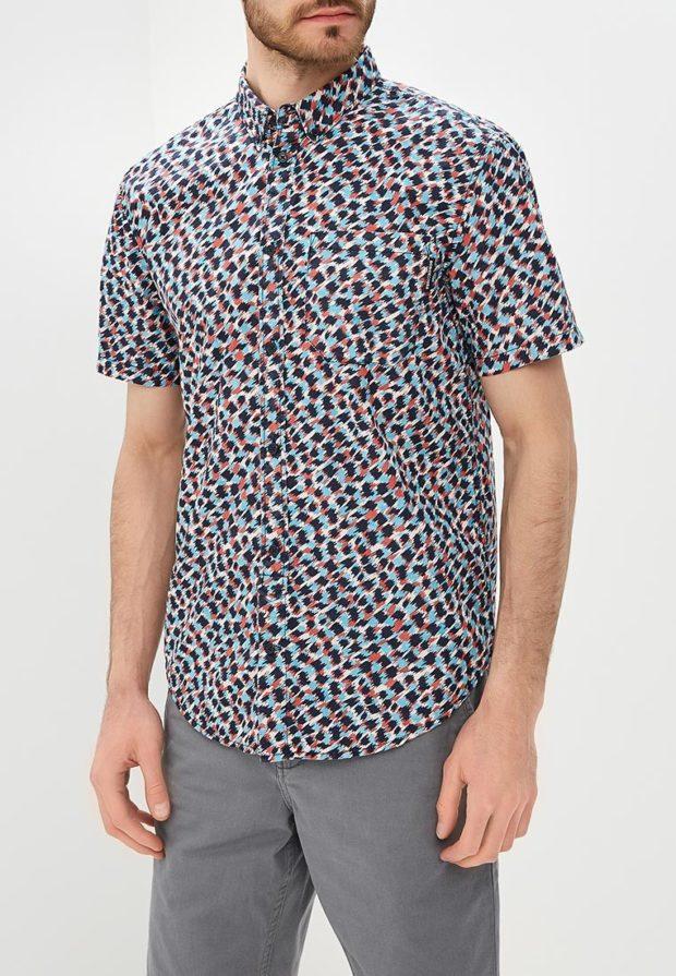 модные мужские рубашки 2018 2019