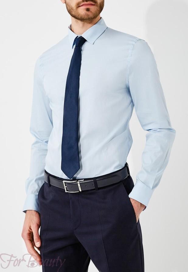 мужские рубашки 2018 мода: классическая