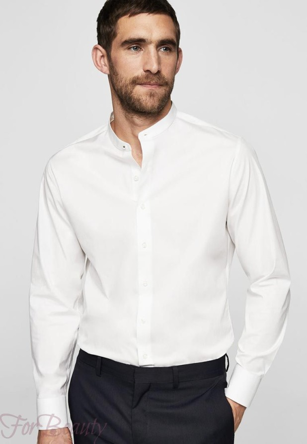 мужская классическая рубашка 2018