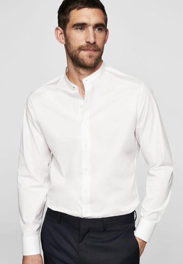 мужские рубашки 2018 2019: классическая