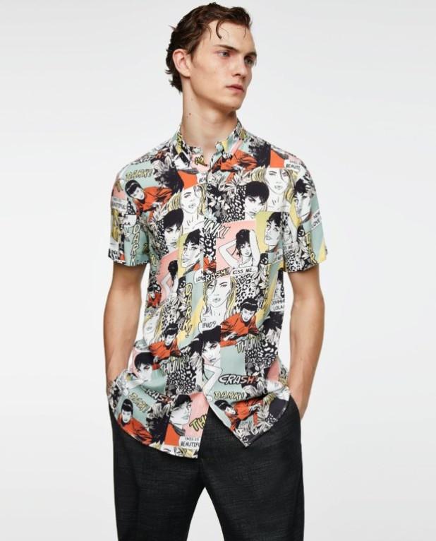 модные мужские рубашки 2018 2019: спринтом лица