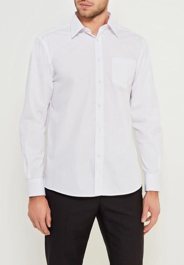 модные мужские рубашки 2018 2019: белая