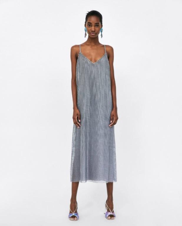 Модные платья 2018-2019 на каждый день: серое
