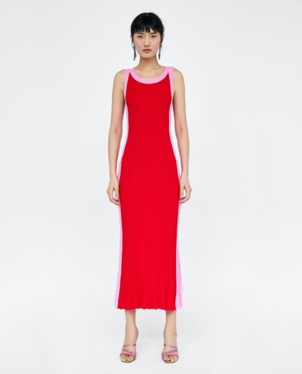 Модные платья 2018-2019 на каждый день: красное