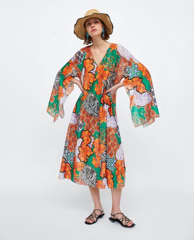 Модные платья 2018-2019 на каждый день: цветное