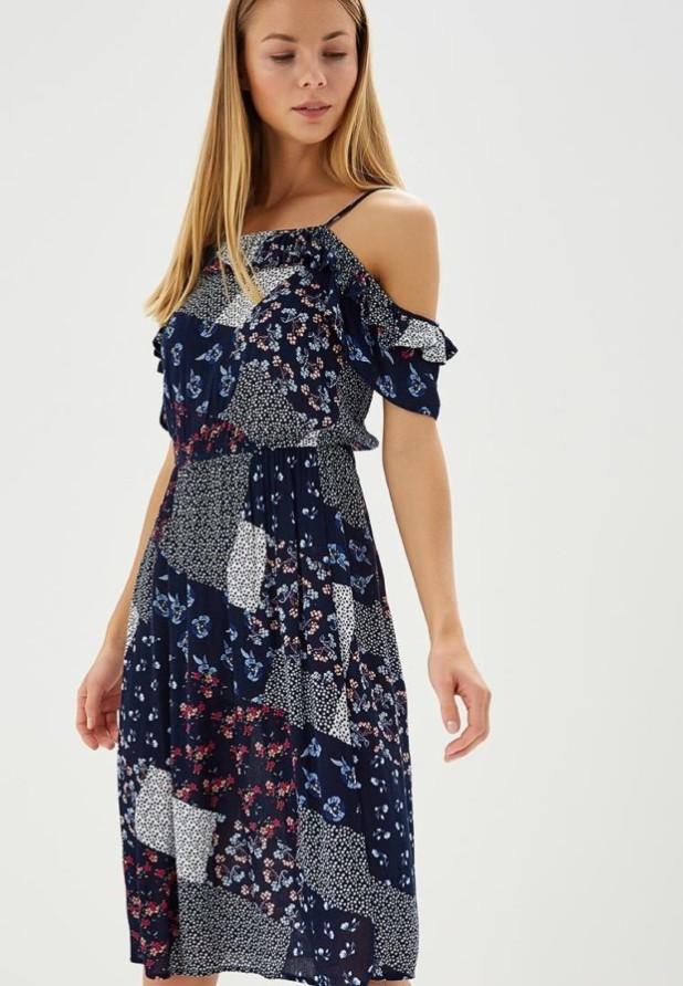 Модные платья 2018-2019 на каждый день: сарафан