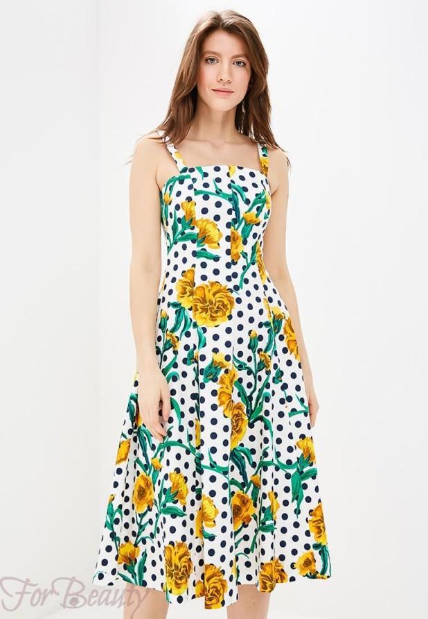 платье-сарафан на каждый день 2018
