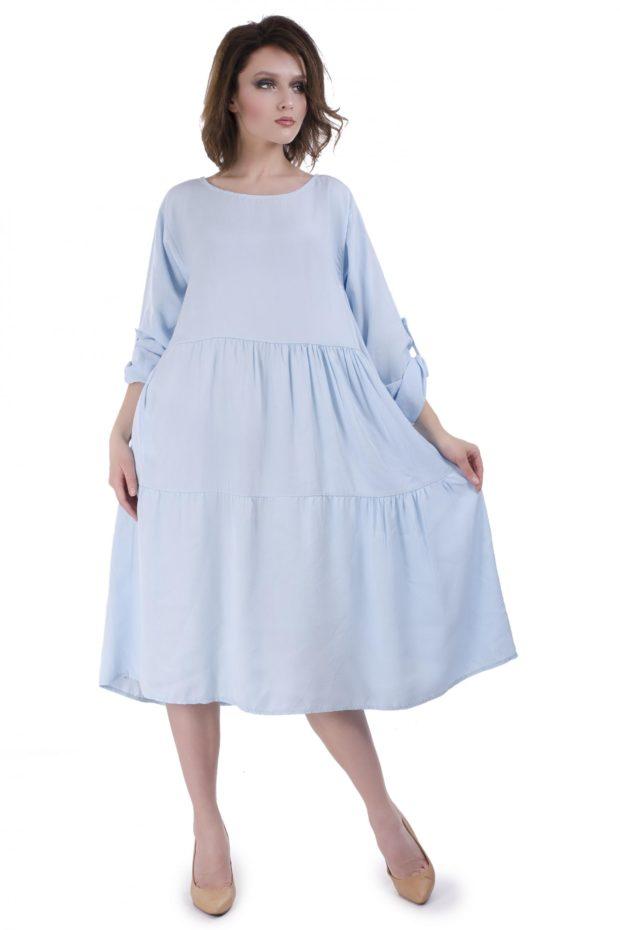 платье на каждый день: свободного кроя