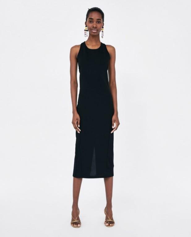 Модные платья 2018-2019 на каждый день: черное