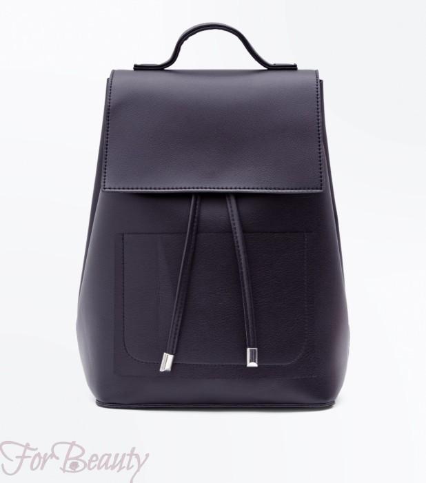 Модный фиолетовый рюкзак 2018