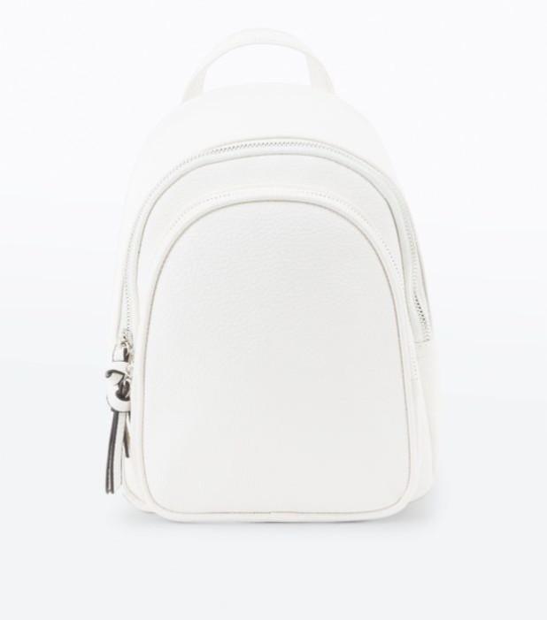 Модный белый рюкзак 2018-2019