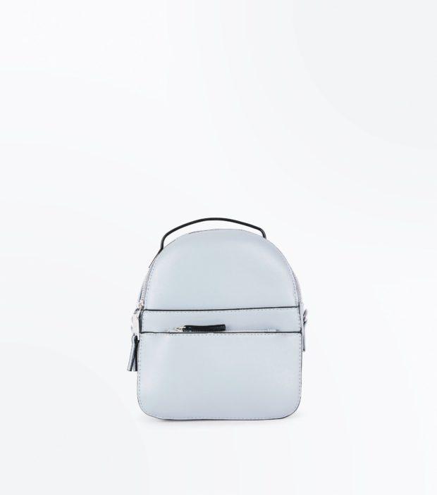 Модный голубой рюкзак 2021