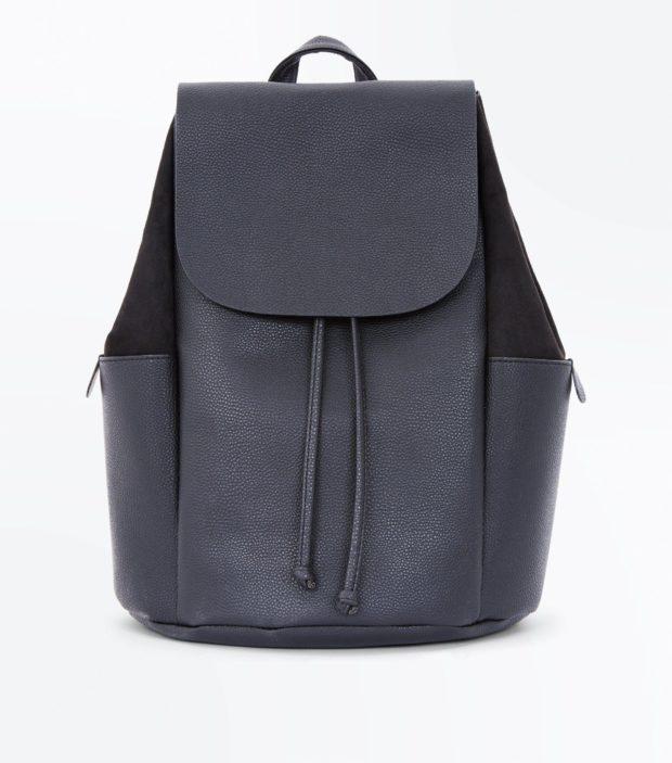 Модный черный рюкзак 2020