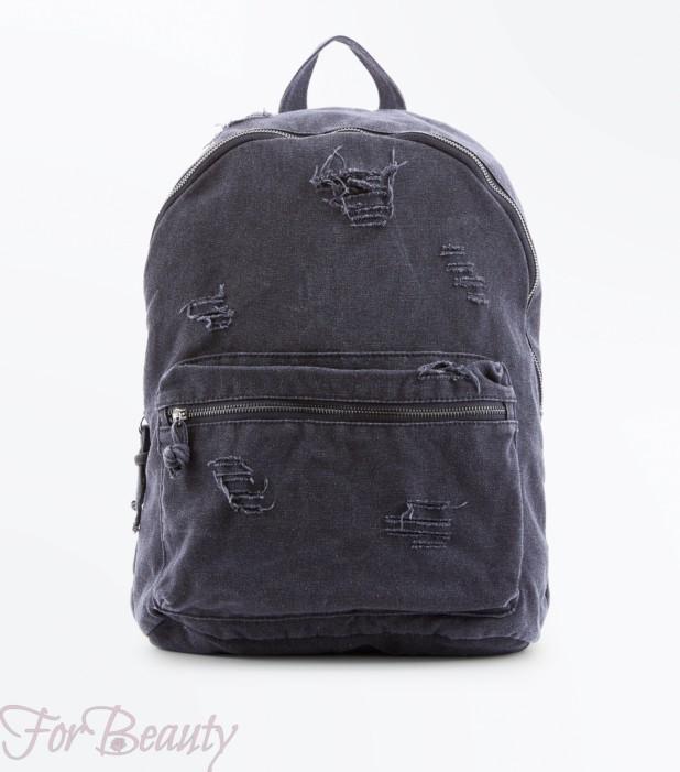 Модный тканевый рюкзак 2018