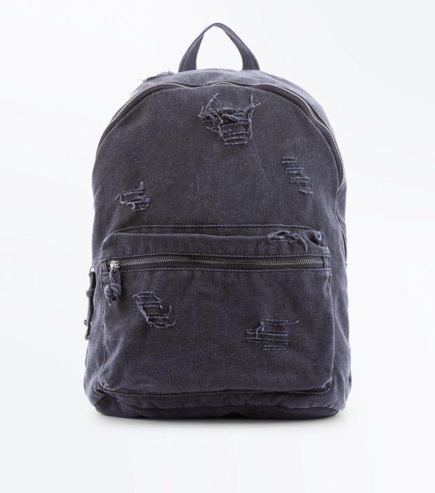 Модный тканевый рюкзак 2018-2019