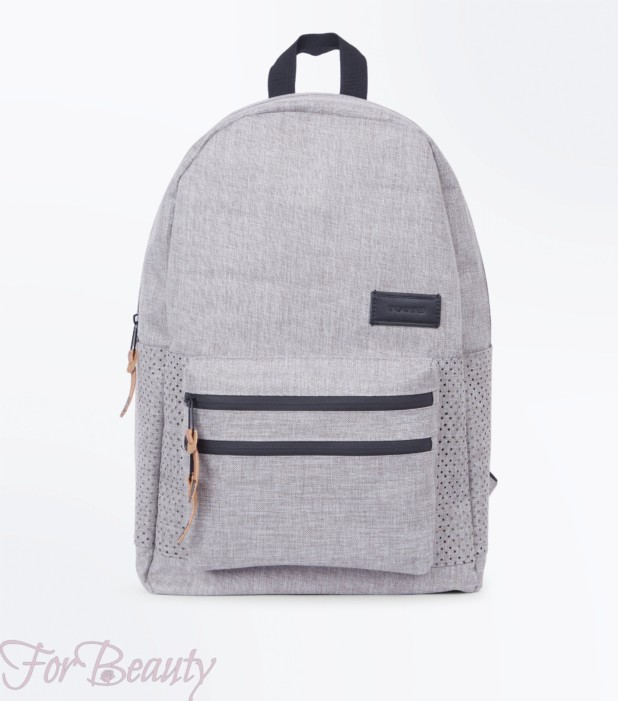 Модный сиреневый тканевый рюкзак 2018