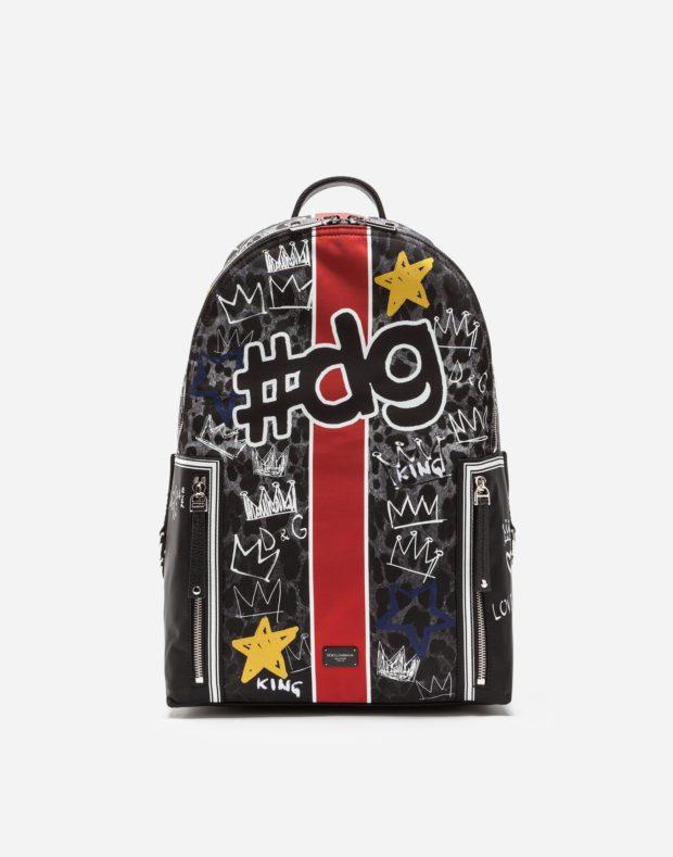 Модный цветной тканевый рюкзак 2018-2019
