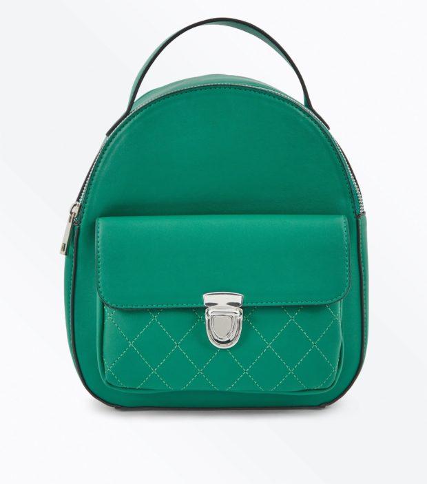 Модный зеленый рюкзак 2020