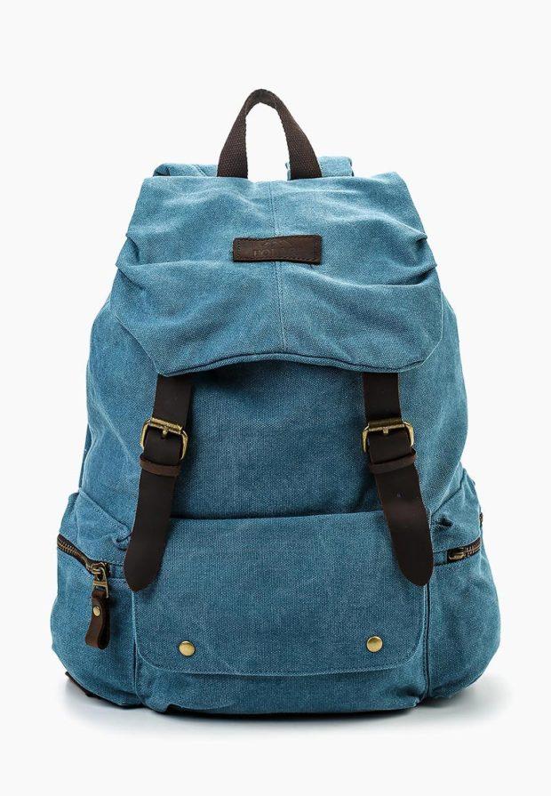 Модный джинсовый рюкзак