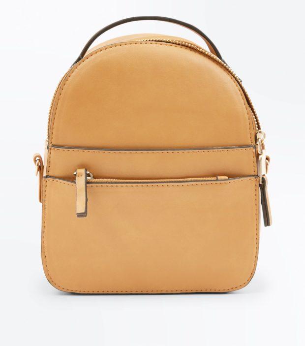 Модный коричневый рюкзак 2020