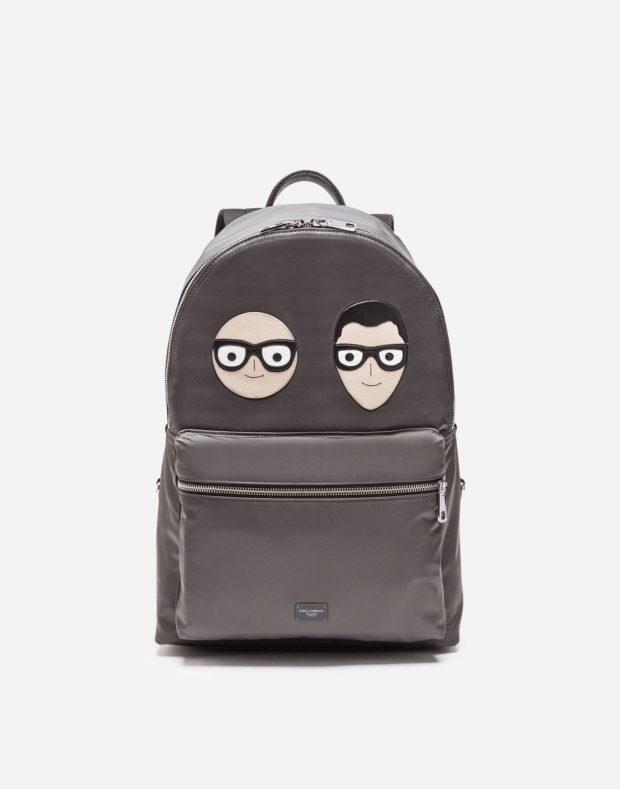 рюкзак с аппликацией