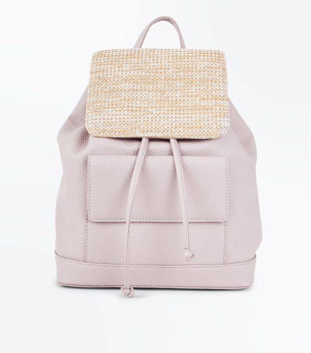 Модный розовый рюкзак 2020