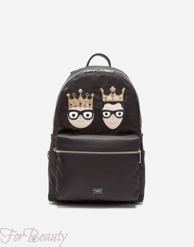 Модный рюкзак с аппликацией 2018