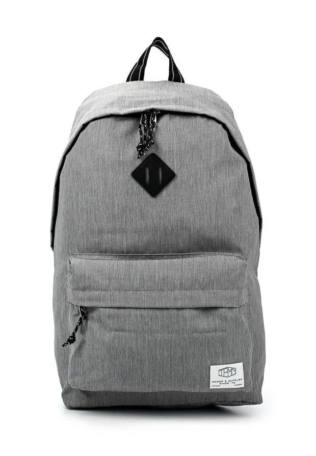 Модный серый рюкзак 2020-2021